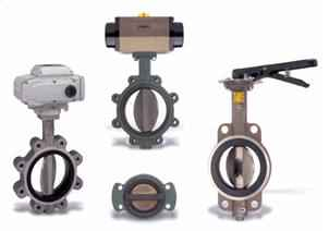 Butterfly Valves for Compressed Air